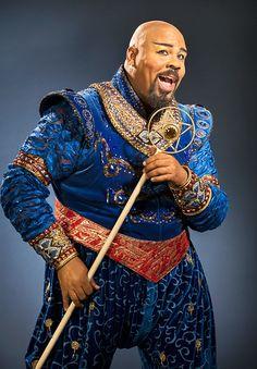 "James Monroe Iglehart as Genie in ""Aladdin: The Musical""."