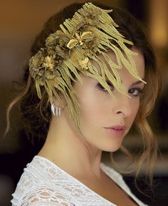 What's the buzz? We'll tell you what's happening this season!  The ZERA Couture Flora & Fauna collection for Spring/Summer '14 features this show piece as a real revival for your #hair.  Full details on this piece: https://www.facebook.com/ZeraCouture   #fashion #couture #model #photoshoot #headpiece #style #runway #handmade #beauty #luxury