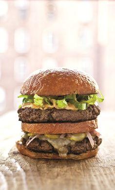 the chew | Recipe  | Michael Symon's Big Mike Burger