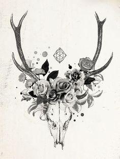 Ram skull | Laine Fraser - Designer Illustrator Artist