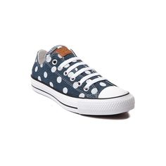 Converse Chuck Taylor All Star Lo Dots Sneaker ($5,499) ❤ liked on Polyvore