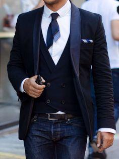Men's Fall/Winter Street Fashion.