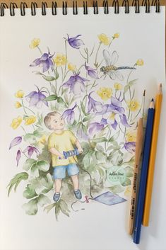 Using a reference photo of my little nephew to create this whimsical watercolor painting. I want to create a magical moment, a fairytale like world. By combining watercolor and color pencils, I am happy with the result. Can you imagine being that little boy in awe? Watercolor Illustration, Watercolor Paintings, Kite Flying, I Am Happy, Colored Pencils, Little Boys, Fairytale, Whimsical, In This Moment
