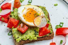Soft Boiled Egg Avocado Toast Clean Eating Breakfast