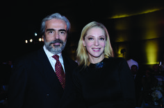 Lorenzo Lazo y Edith Gonzalez