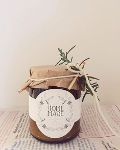 homemade labels - Candle Labels - Soap Labels - Christmas gift DIY - labels designed and printed by Substation Paperie Honey Packaging, Cookie Packaging, Candle Packaging, Candle Labels, Food Packaging Design, Candle Jars, Homemade Candles, Diy Candles, Homemade Gifts