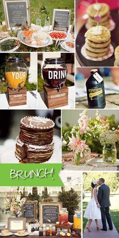 19 Ideas For Brunch Wedding Food Menu Mornings Diy Wedding Reception Food, Brunch Wedding, Reception Ideas, Wedding Ideas, Wedding Receptions, Fall Wedding, Wedding Decor, Wedding Planning, Easy Brunch Recipes