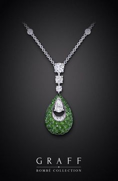 The #GraffDiamonds #Emerald Bombé Collection.