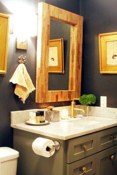 cozy lil' bath