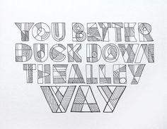 Bob Dylan´s HAND LETTERING EXPERIENCE by Leandro Senna, via Behance // one page of 66