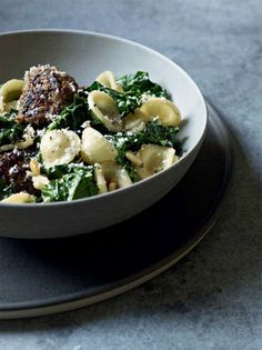 Best Easy Recipes – Orecchiette with Kale and Pine Nuts...This is ...