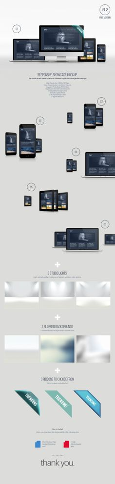 Free Responsive Showcase Mockup Psd Latest News & Trends on and Tool Design, App Design, Photoshop Web Design, Photoshop Tips, Themes For Mobile, Web Design Examples, Ui Web, Responsive Web, Shops