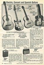 VintAxe.com Vintage Guitars - Vintage Japanese Catalogs - Lafayette - 1966