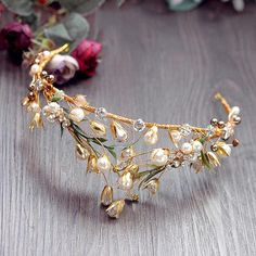 Hair Jewelry, Wedding Jewelry, Fashion Jewelry, Gold Jewelry, Pearl Jewelry, Rhinestone Headband, Rhinestone Wedding, Crystal Rhinestone, Crystal Wedding