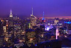ロックフェラーから見たマンハッタン@マンハッタン | 死ぬまでに行きたい!世界の絶景                                                                                                                                                                                 もっと見る