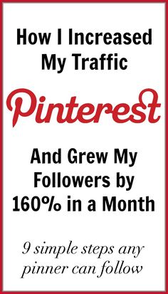 How @KatieMc40 Increased her Traffic on Pinterest with a Growth of 160% in Followers in a Month (Scheduled via TrafficWonker.com)