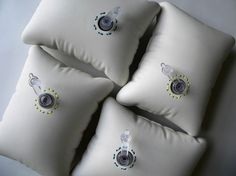 PETRA SAJKAS PORCELAIN PILLOWS