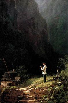 Carl Spitzweg - The Zollwache