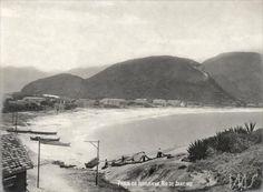 Vista de Copacabana a partir do Morro da Igrejinha, Rio de Janeiro, 1907 (Foto: Anônimo)