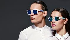 colorful 3d printed sunglasses