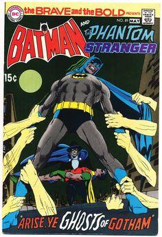 The Brave & The Bold, Batman & The Phantom Stranger - Pencil & Inks by Neal Adams Dc Comic Books, Comic Book Artists, Comic Book Covers, Comic Book Heroes, Comic Artist, Dc Heroes, Dc Comics, Batman Comics, Marvel Masterworks