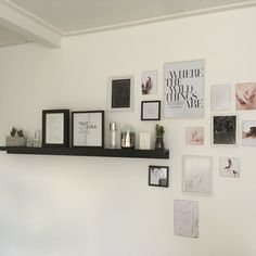 #room #diy #white #pictures #wall