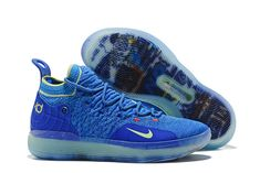 7c0dd1dca23f Wholesale Nike KD 11 Paranoid AO2604-900 Multi-Color Blue Yellow - www.