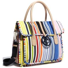 Juicy Couture - Crazy for Couture - Maeve Canvas Satchel Stripes $129.90 (34% off)