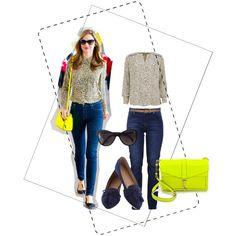 Miranda kajual look by shamy on Polyvore featuring moda, Lollys Laundry, Lola, Rebecca Minkoff, Chanel and Kerr®