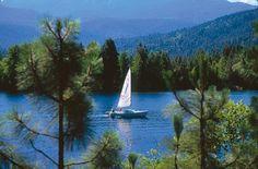 Lake Siskiyou, Mt. Shasta, California, USA