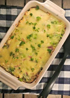We hebben alweer een lekkere ovenschotel, dit keer een rijstovenschotel met kip, broccoli, ui en een bechamelsausje er overheen. Ovenschotels blijven zo lekker en simpel en je kunt er eindeloos mee variëren, wij houden ervan. Tijd: 20 min. + 25-30 min. in de oven Recept voor 2 personen Benodigdheden: 1 kipfilet 300 gram broccoli 1...Lees Meer »