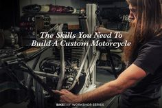 Have you got the skills you need to build a custom motorcycle? Expert mechanic Matt McLeod reveals how it's done.
