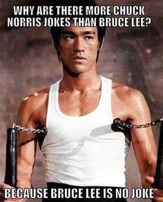 Bruce Lee no joke