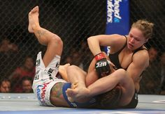 Another arm for Ronda's trophy case.
