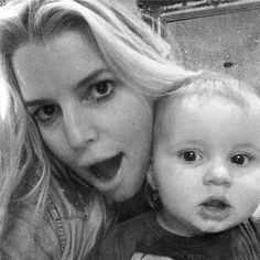 Jessica Simpson takes a selfie with her adorable 8-month-old son, Ace