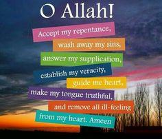 Ameen ♡ #Alhumdulillah