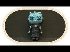 Король Ночи крючком, часть Crochet The Night King, part Game of Thrones. Game Of Thrones, Zombie Monster, Crochet Monsters, Kings Game, Night King, Crochet Videos, Amigurumi Toys, Crochet Dolls, Chibi