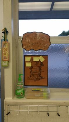My Wishing Well. Anything I need for the class I post here using sticky notes. Students or parents can take them to fill of they can.
