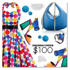 """""""Dresses Under $100"""" by ansev ❤ liked on Polyvore featuring Kat Maconie and Whiteley"""