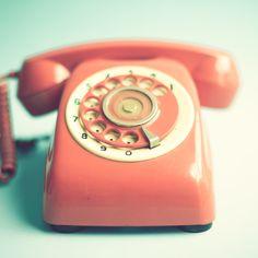 Pink Retro Telephone on Mint Background Art Print by Andrea Caroline | Society6