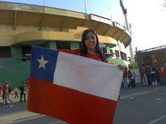En el estadio!!!