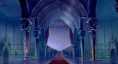 Animation Backgrounds: BEAUTY AND THE BEAST