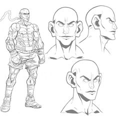 Designing characters for our boxing animation short. #anime #art #artist #artistic #drawing #drawings #illustration #illustrations #animation #awesome #epic #boxing #cartoon