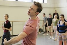 Christpher Wheeldon visited our studios to work on #Polyphonia for two days!!! Christopher Wheeldon via timeout.com