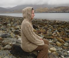 Ravelry: Recipe for a rustic jacket pattern by Mona C. NicLeòid free pattern
