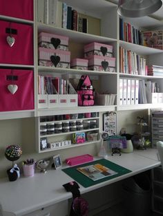 craft room found on the facebook site : www.facebook.com/... Great ideas for scrapping and craft rooms!