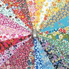 """24 Liberty Lawn fabric 5"""" Patchwork Charm Squares *TINY FLORALS* - 2"""