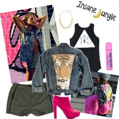 """""""Eye of the Tiger"""" by insanejungle on Polyvore"""