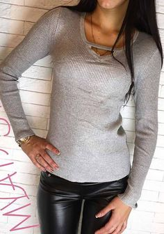 love this knit top