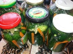 Castraveți in saramură Pickles, Cucumber, Recipes, Food, Recipies, Essen, Meals, Ripped Recipes, Pickle